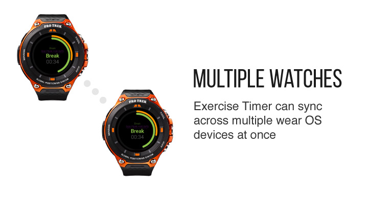 Sync across multiple Wear OS smartwatches