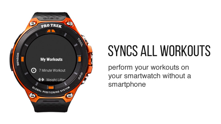 Sync All workouts with wear OS