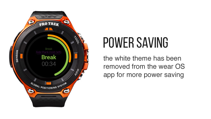 Wear OS Power Saving